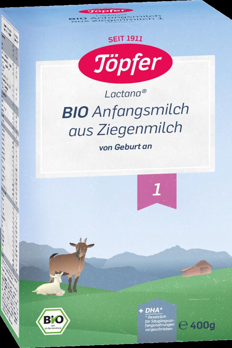 Sữa Dê BIO Töpfe 400g số 1 cho Trẻ sơ sinh