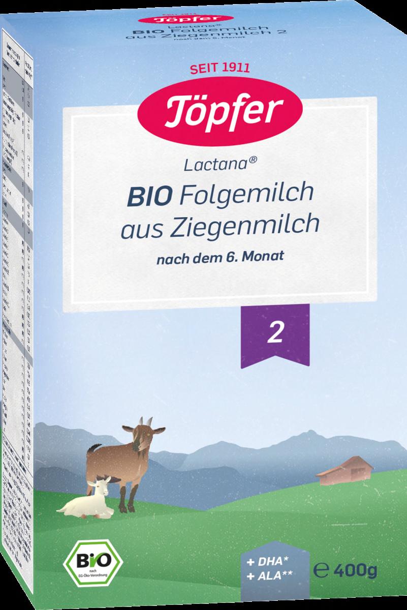 Sữa Dê BIO Töpfe 400g số 2 cho Trẻ sơ sinh 6m