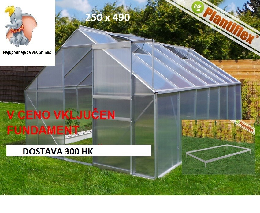 Rastlinjak - Plantiflex® 250x490 cm