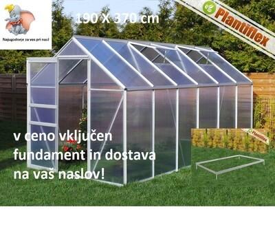 Plantiflex® Rastlinjak 190 x 370 cm 4 mm ali 6mm plošče