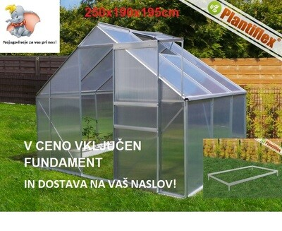 Rastlinjak - Plantiflex® 250x190 cm