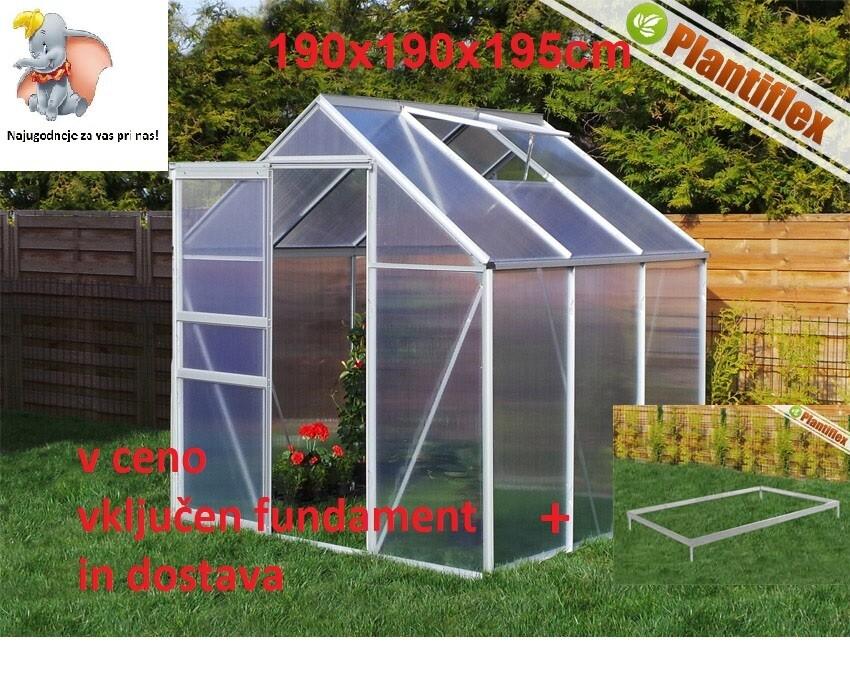 Plantiflex® Rastlinjak 190 x 190 cm
