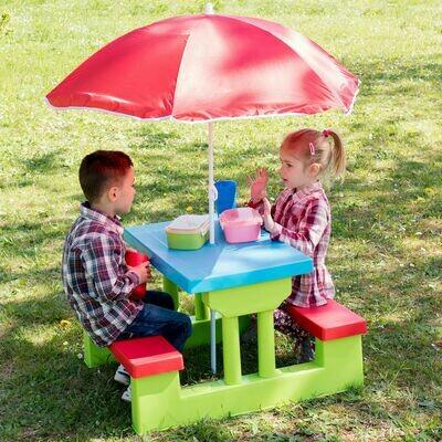 Otroška sedežna garnitura, vključno s sončnikom