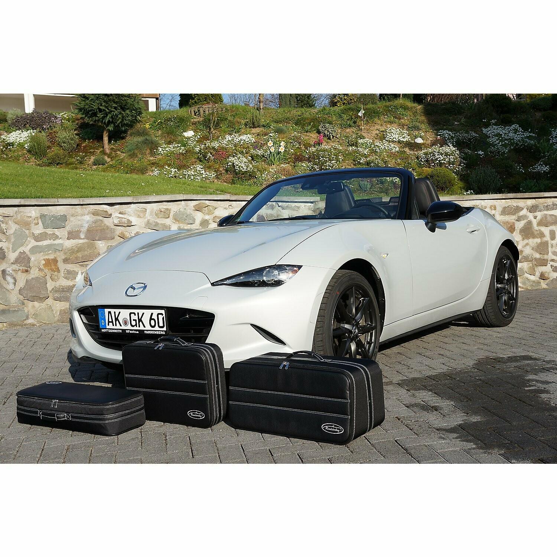 Roadsterbag – 3 DELNI SET POTOVALNIH KOVČKOV - Mazda MX-5 ND 89 litrov