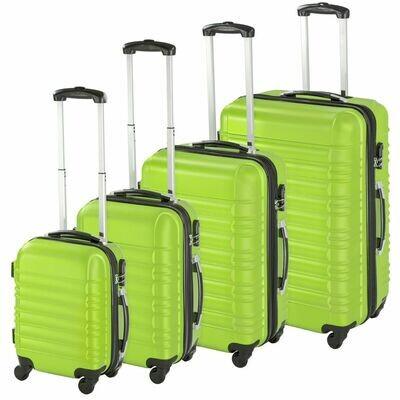 4-delni komplet trdih potovalnih kovčkov – več barv