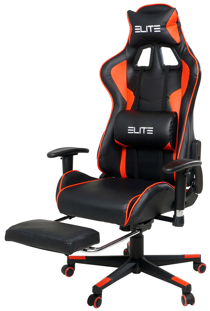 Elite -  igralni stol  z opornikom za noge – več barv
