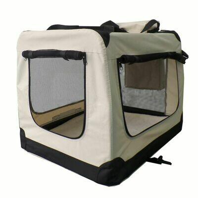 Zložljiva Transportna torba za prevoz psov Lassie XL  - SIVA ali BEIGE
