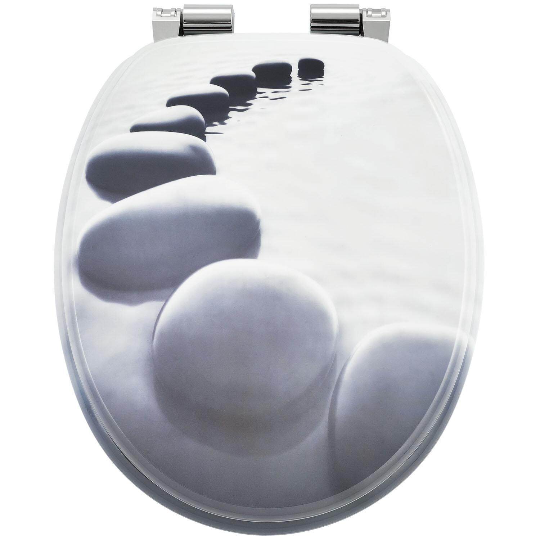 MODEL ZEN - POKROV za WC školjko iz MDF s samodejnim spuščanjem