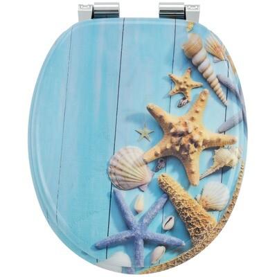MODEL OCEAN - POKROV za WC školjko iz MDF s samodejnim spuščanjem