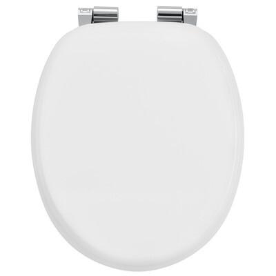 MODEL BELA - POKROV za WC školjko iz MDF s samodejnim spuščanjem