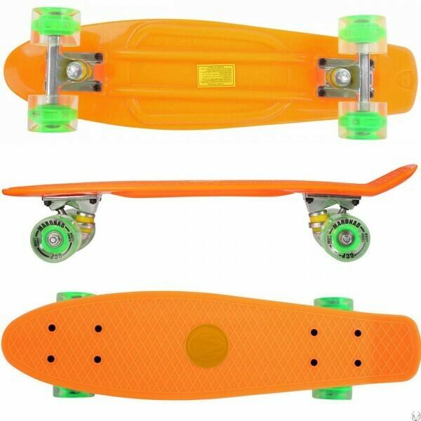 Retro skateboard LED svetlobna kolesa ABEC 7 – več barv