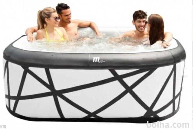 Whirlpool Masažni napihljiv Miweba MSpa Premium Soho jacuzzi