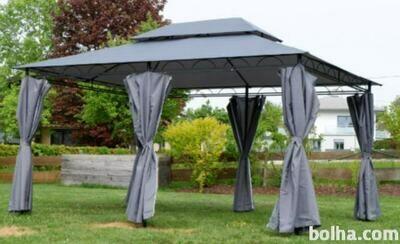 VRTNI PAVILJON – 3x4 metre - 12m² - streha 100 % vodoodporna