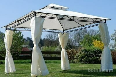 PAVILJON - pavilion 3 X 3 m, 100 % VODOODP. STREHA