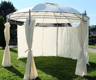 Vrtni paviljon GAZEBO 3,5m, 100% nepropustna streha