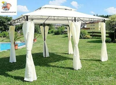 Paviljon - pavilion 3 x 4 m - 100 % neprepustna streha