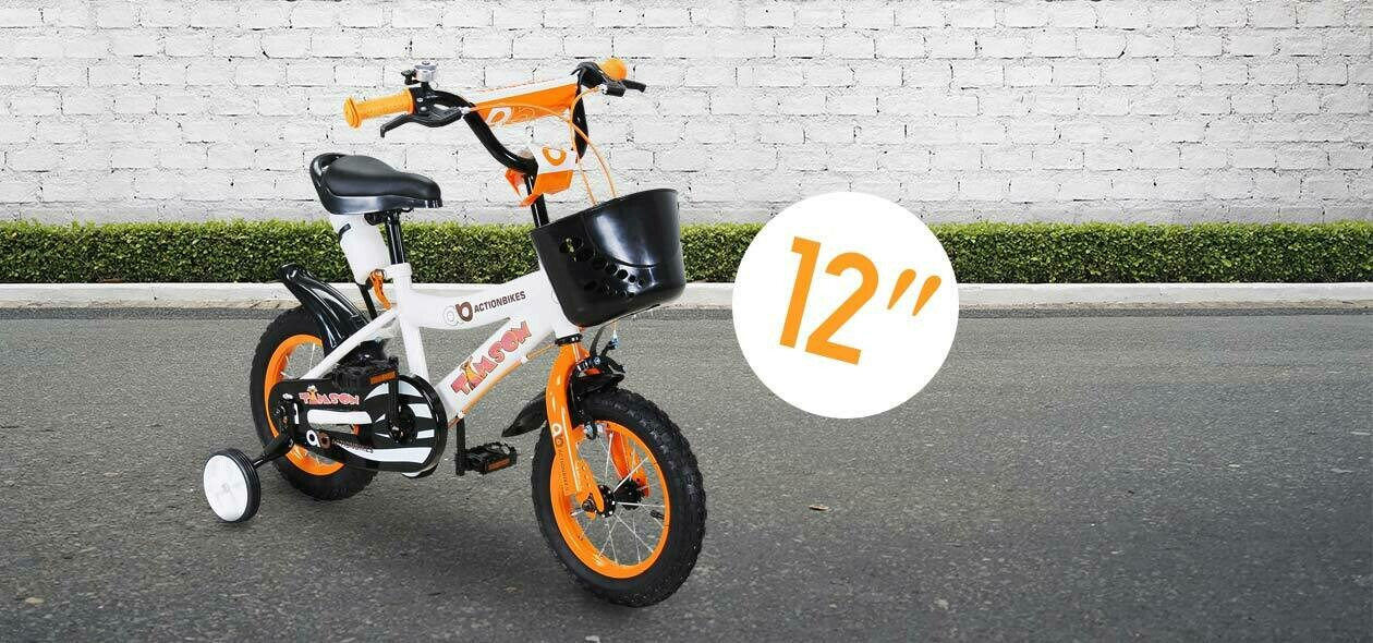 Actionbikes otroško kolo TIM- ORANŽNA- 12 palčna kolesa