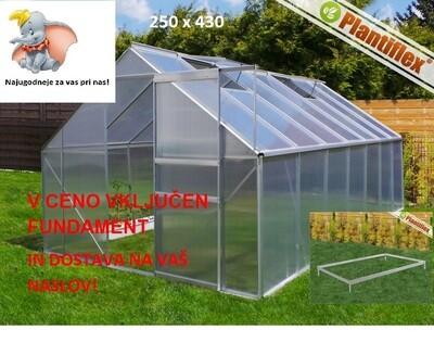 Plantiflex® Rastlinjak 250 x 430 cm Plošče  4mm