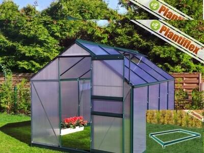 Plantiflex® Rastlinjak-190 x 250cm - ZELEN 6mm plošče