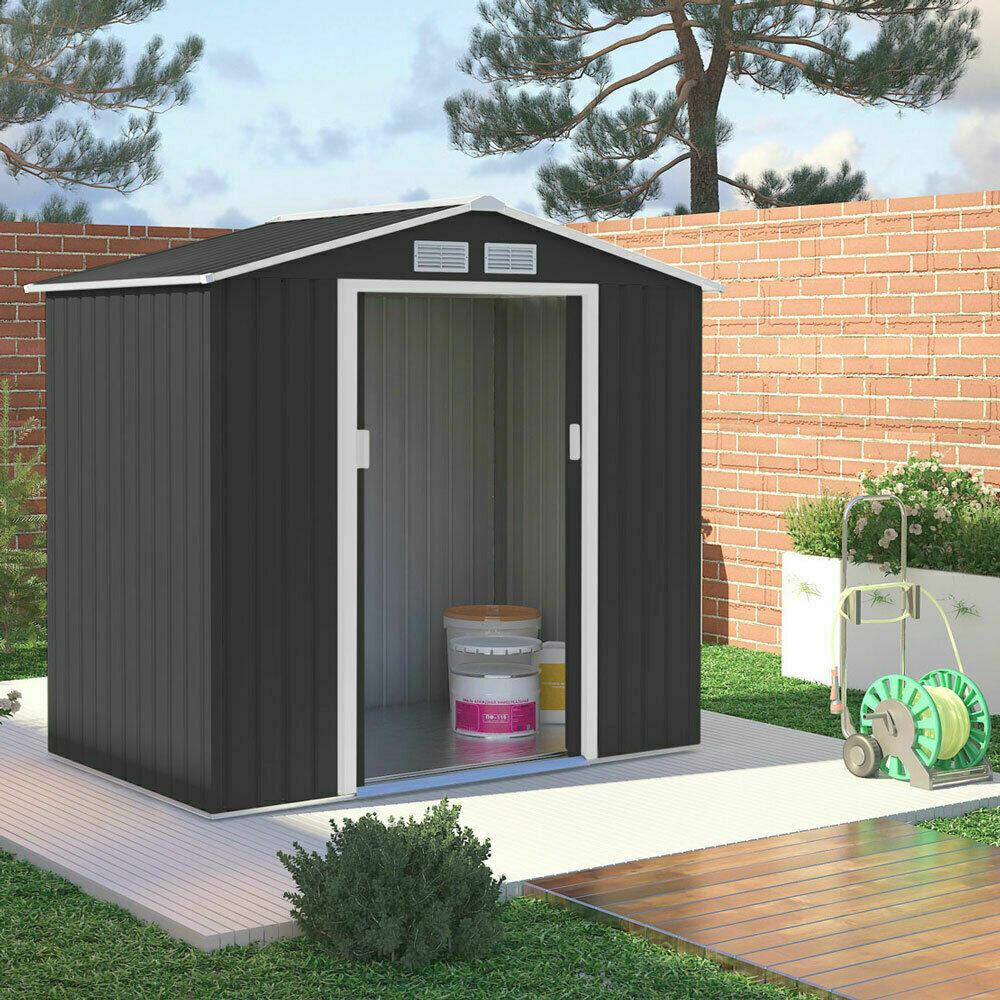Vrtna hiška – uta - lopa  S100 -2,7 m2 lopa za orodje v antrazit barvi