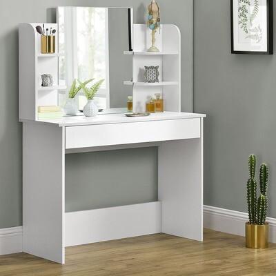 Toaletna mizica Bella - bela