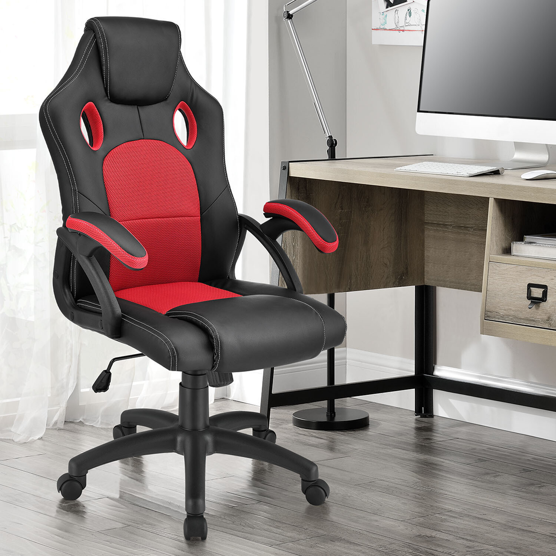 Podložen pisarniški stol z nastavljivim naslonom - MONTREAL - VEČ BARV