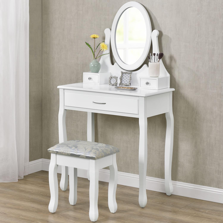 Toaletna mizica LENA bela