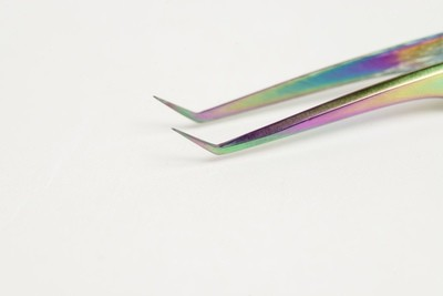 Rainbow Collection - Angled Tweezers