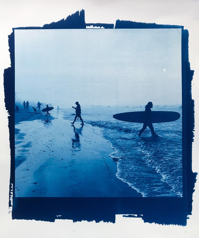 'Untitled beach scene I'