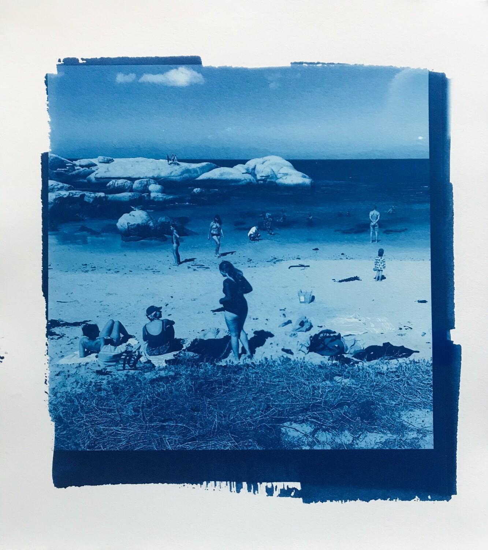 'Untitled beach scene II'