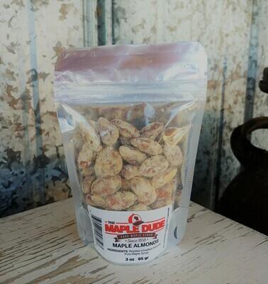 Maple Almonds 3 oz.