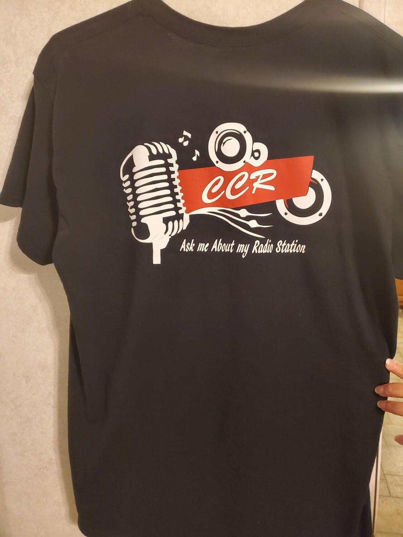 CCR Tee Shirt Plain Vinyl