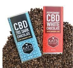 Kat's Naturals CBD Chocolate Bar