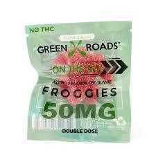 Green Roads On The Go 50mg Froggie