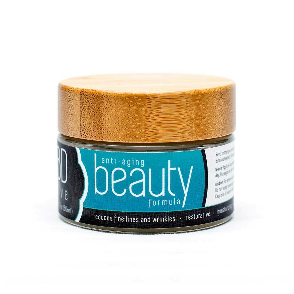 Pure Naturals 250mg CBD Anti-Aging Beauty Salve or cream 1.7oz