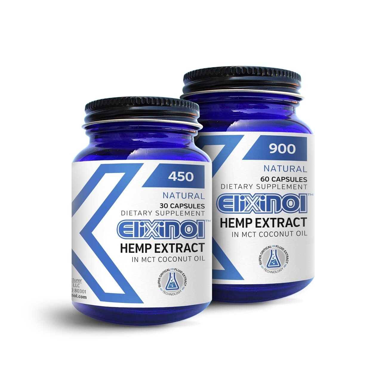 Elixinol Capsules  900mg