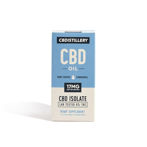 CBDistillery 500mg Isolate