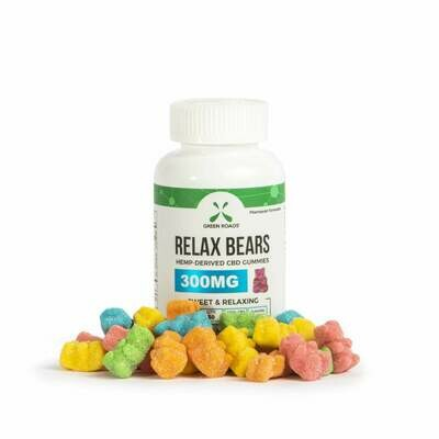 Green Roads 300mg-30 count Relax Bears
