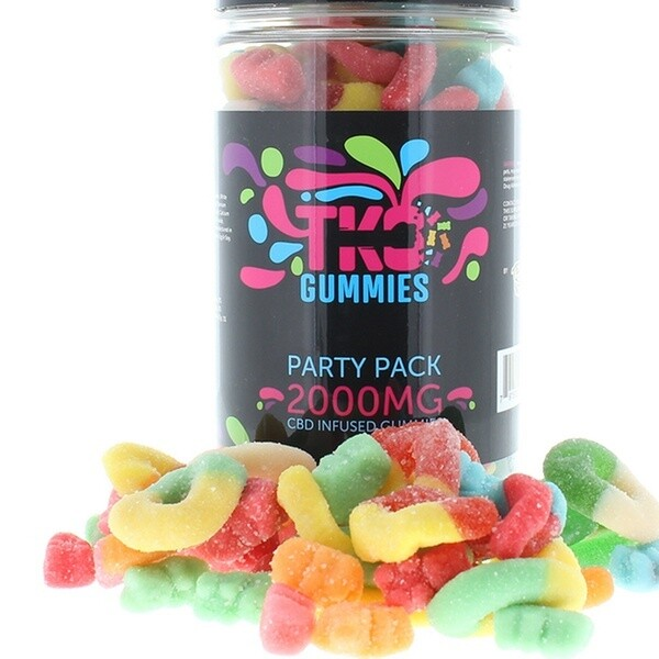 Terp Nation/ TKO CBD Infused Gummies