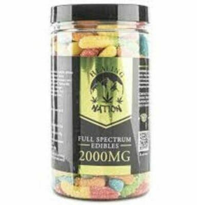Healing Nation Full Spectrum CBD Gummies