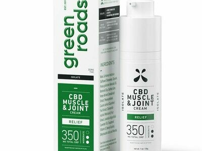 Green Roads 350mg Muscle & Joint Relief Cream