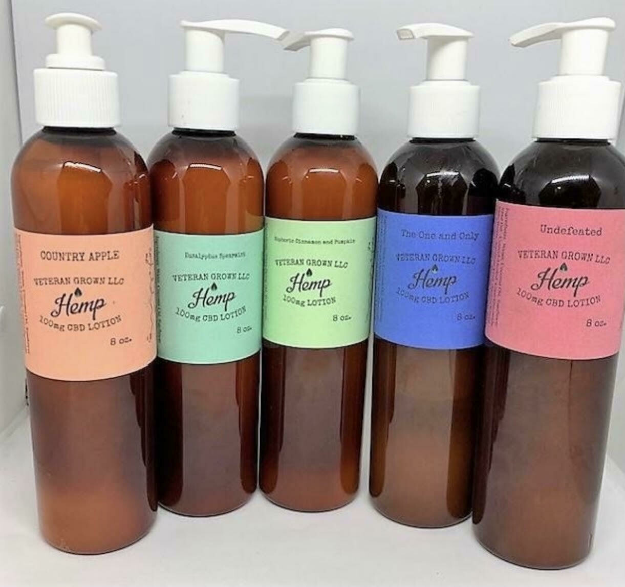Vetern Grown Lotion- 5 Scents