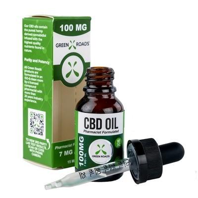 100mg Green Roads CBD oil