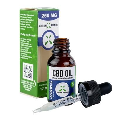 250mg Green Roads CBD oil