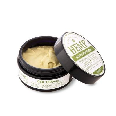 Endoca Hemp Whipped Body Butter (1500mg CBD)
