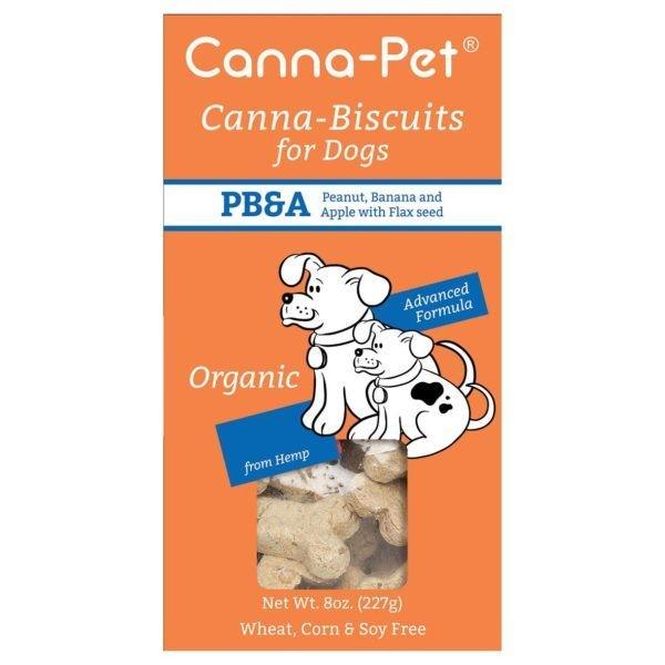 Canna-Pet Peanut Butter & Apple CBD Dog Biscuits