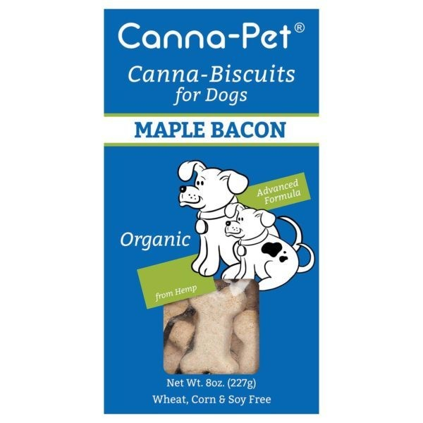 Canna-Pet Maple Bacon CBD Dog Biscuits