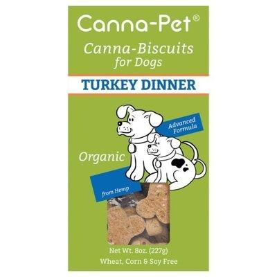 Canna-Pet Turkey CBD Dog Biscuits