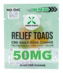 Green Roads On The Go 50mg CBD Froggie