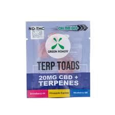 Green Roads On The Go Terp Toads